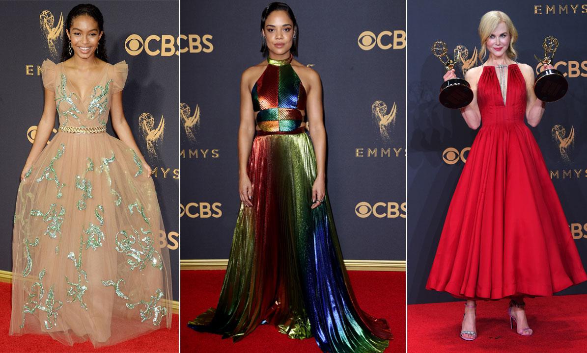 De 13 vackraste klänningarna på röda mattan på Emmy Awards 2017