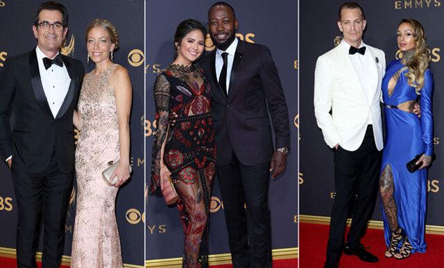 De 10 bäst klädda paren från Emmy Awards 2017