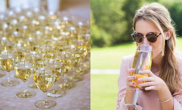 Fixa välkomstdrinken med proseccobål – här är glaset som rymmer en hel flaska bubbel