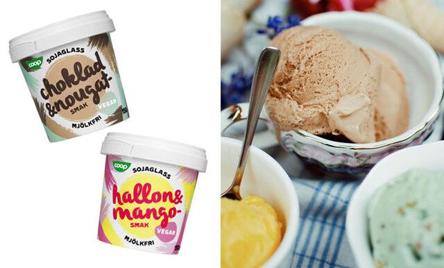 Coop lanserar vegansk glass – vi älskar det!