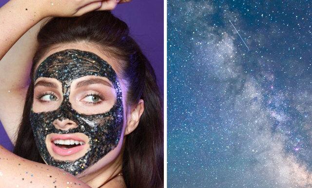Snart kan du ge huden ett lyft med den här drömmiga glittermasken