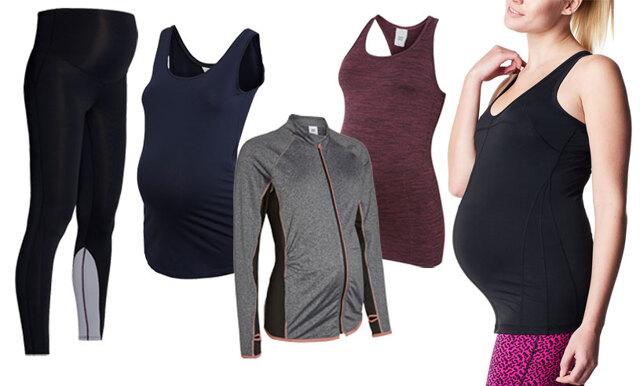 10 utvalda träningsplagg för dina stilsäkra gravidträningspass