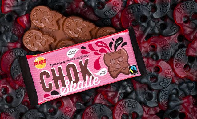 Höstens bästa godisnyhet är hallonlakrits-dödskallen – som chokladkaka!