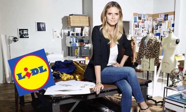 Heidi Klum släpper kollektion med Lidl – se första bilderna på plaggen här!