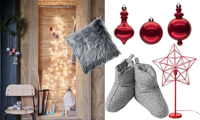 Klassiskt rött och grått – här är våra 14 favoriter inför julen 2017 på Ikea