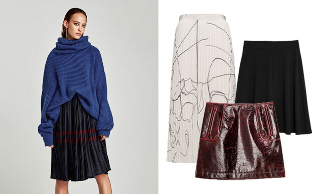 17 snygga och trendiga kjolar att bära i höst