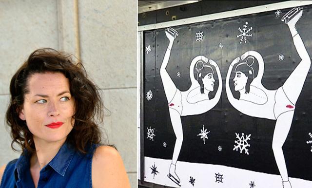 Liv Strömquist om hur kvinnor med mens i tunnelbana kan provocera - 2017