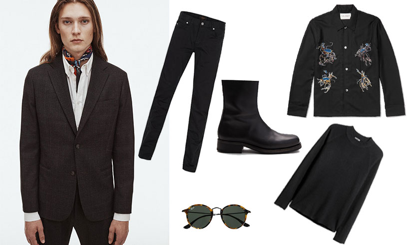 Klä dig svart i höst – 12 tidlösa och snygga plagg för män i butik just nu