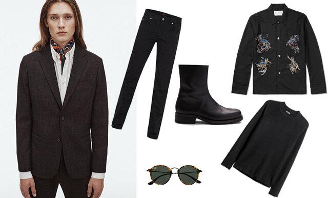 Klä dig svart i höst - 12 tidlösa och snygga plagg för män i butik just nu