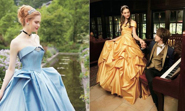 Disney lanserar 14 magiska bröllopsklänningar - från filmernas klassiska sagoprinsessor