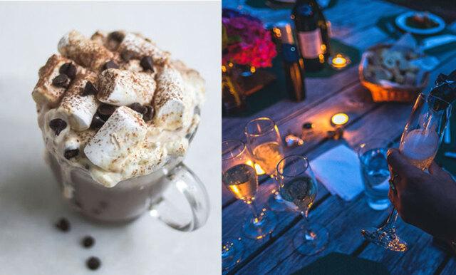 Vill du lyxa till din varma choklad i höst? Nu kan du toppa med proseccomarshmallows!
