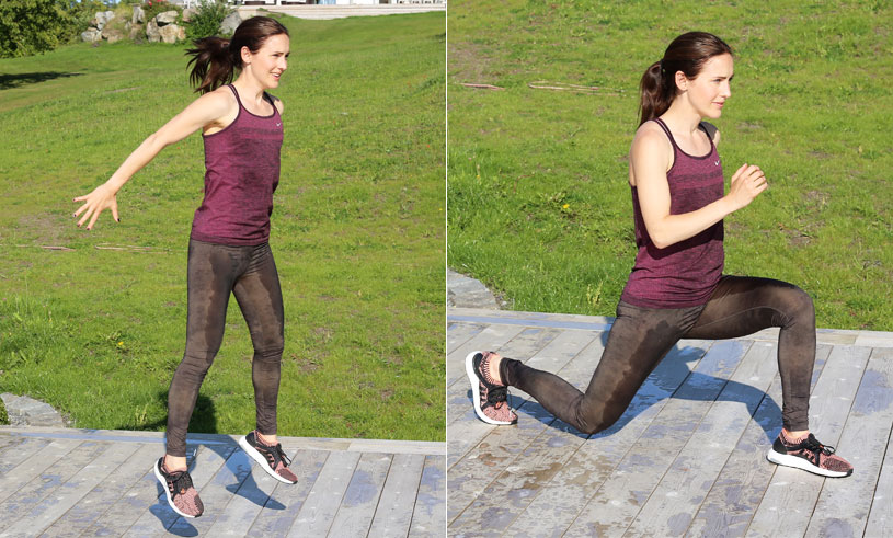 6 pulshöjande styrkeövningar för dig som vill konditionsträna hemma (utan redskap!)