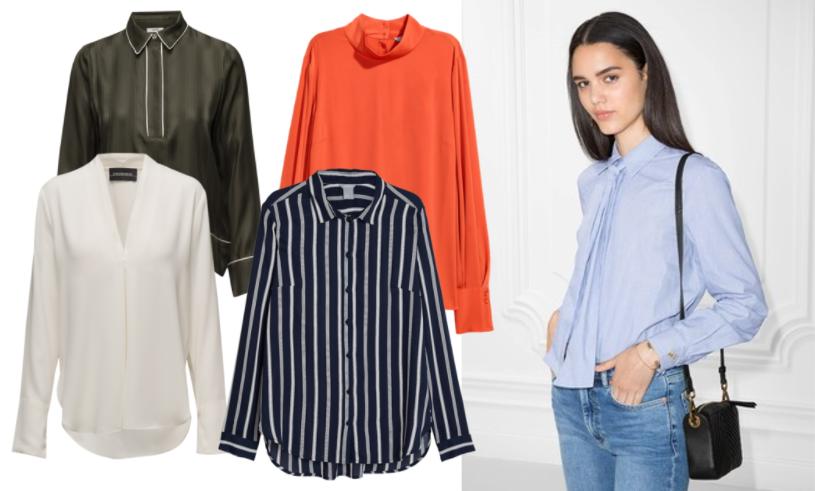 15 stilsäkra skjortor och blusar som passar perfekt till jobbet