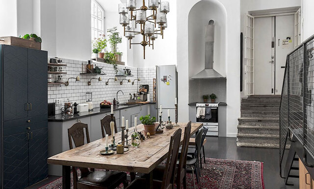 Stilrent och bohemiskt – sno stilen av Stockholms drömmigaste hem