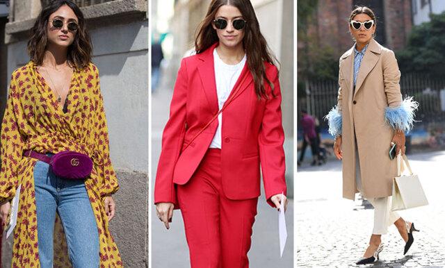 Direkt från Milano Fashion Week – här är 20 inspirerande streetstyle-outfits