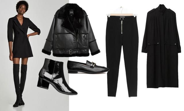 Håll stilen med en svart uniform – 19 plagg som fixar den perfekta garderoben