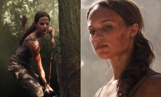 Äntligen! Trailern till nya Tomb Raider är här och Alicia Vikander har aldrig varit mer badass