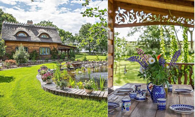 Veckans hem är en stuga i Skåne – som tagen ur en magisk saga