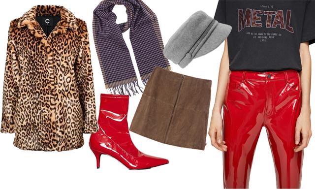 Nyckelplaggen som fixar vinterns snyggaste stil med leopard, lack och ull