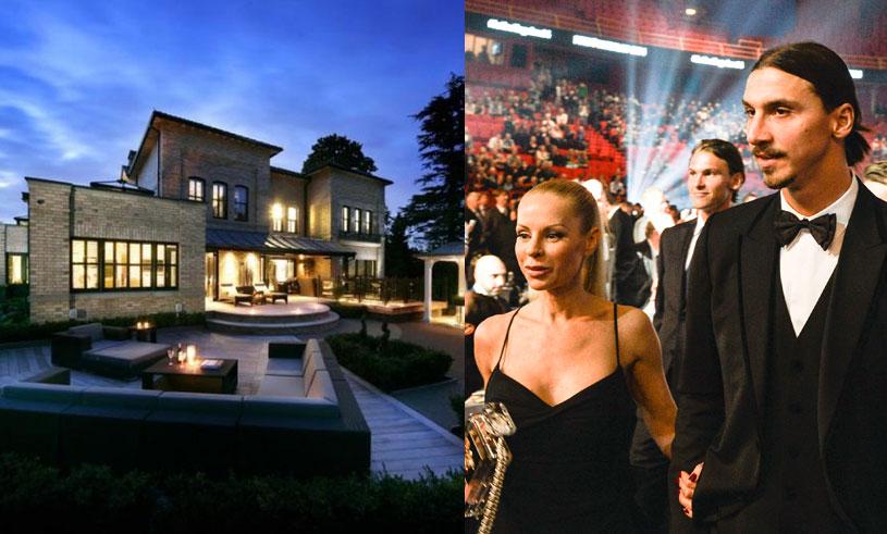 Zlatan och Helena flyttar från lyxvillan – se bilder från huset här!
