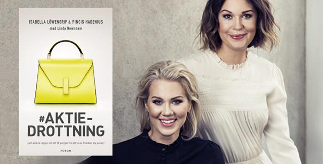 Isabella och Pingis vill hjälpa unga kvinnor att bli aktieproffs – med ny bok