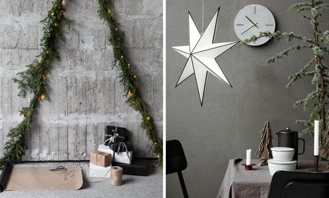 Grått och minimalistiskt - här är de största trenderna julen 2017