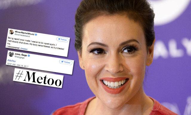 Alyssa Milano startade #Metoo – nu säger kändisarna ifrån mot sexuella övergrepp