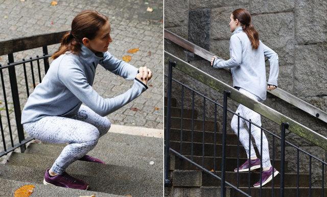 Så tränar du ett helt pass i trappa – 5 tips på puls- och styrkeövningar