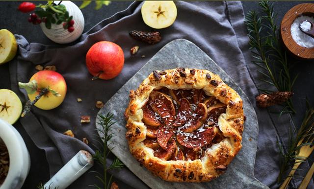Höstens enklaste och godaste dessert stavas äppelgalette