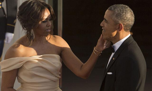 Barack Obamas fina kärlekshälsning till Michelle får oss att smälta