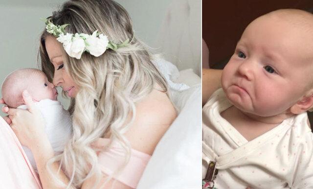 Hörselskadade bebisen hör sin mamma för första gången – det gulligaste vi sett!