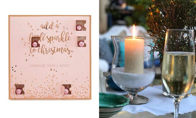 Drömmiga julkalendern med champagnetryffel är här – vi längtar till december mer än någonsin!