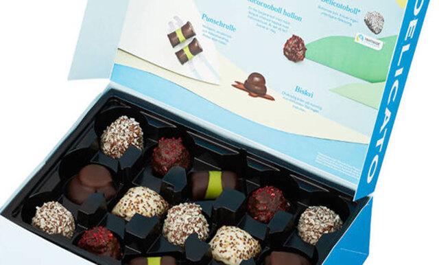 Nu finns Delicato som ask – fylld med chokladklassiker
