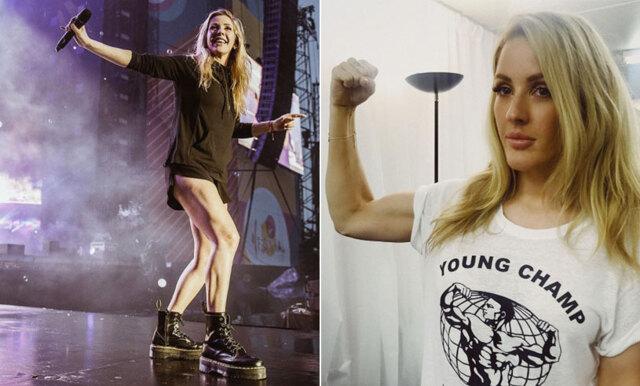 Träningsappen som håller Ellie Goulding i toppform under alla resor