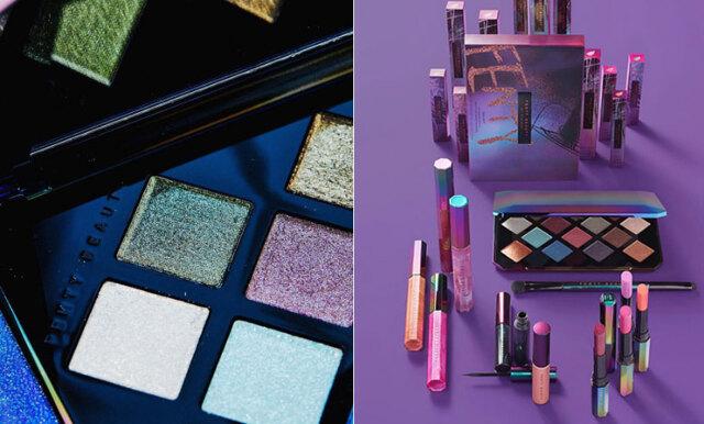 Glitter och starka färger dominerar Fenty Beauty by Rihannas nya galaxykollektion