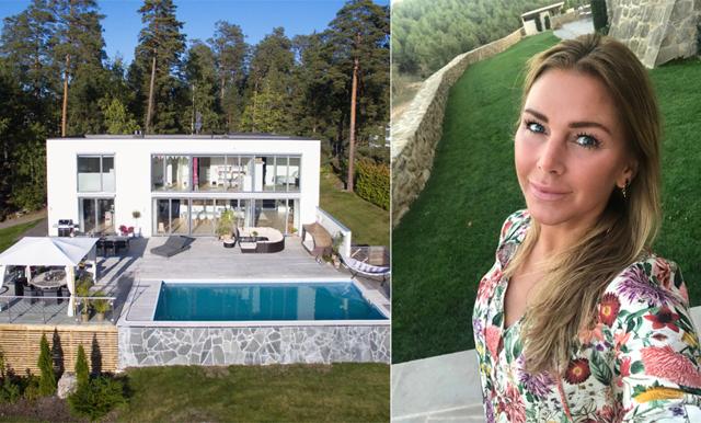 Hannah Graaf säljer sitt lyxhus efter 10 år: