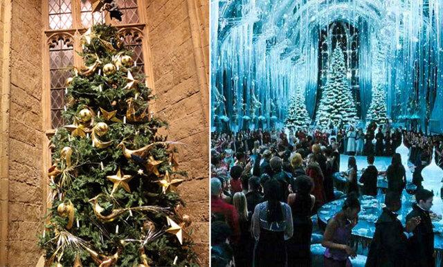 Nu kan du maxa julbordet på ett julpyntat och drömmigt Hogwarts