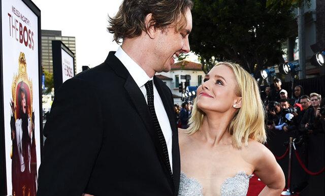 """Kristen Bell om hemligheten bakom ett lyckligt förhållande: """"Det är svårt och kräver mycket"""""""