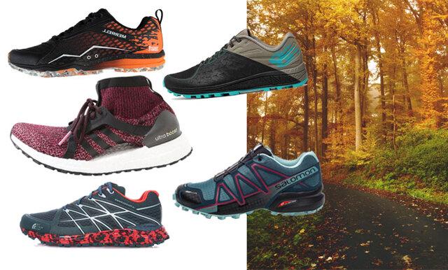Spring utomhus året om! Här är de bästa löparskorna för höstens alla träningspass