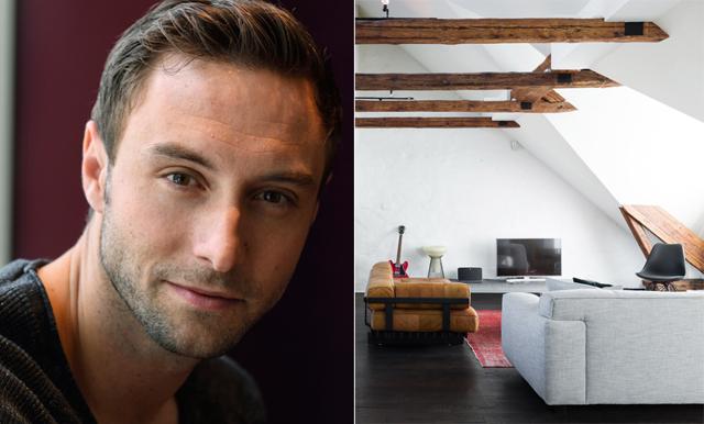 WOW! Måns Zelmerlöw säljer sin lägenhet och det är en riktig dröm
