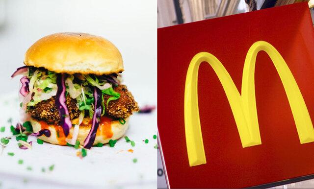 Släpp allt – McDonalds testar veganska hamburgare!