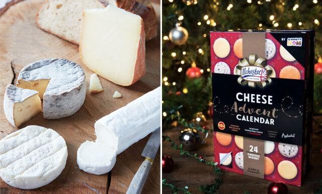 Vi är så peppade på första december – nu finns en adventskalender med ost