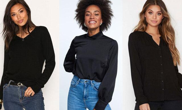 Så stylar du den svarta blusen – 3 stilsäkra jobboutfits att kopiera rakt av!