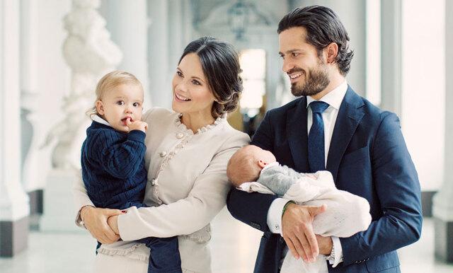 Nya familjefotot på prinsfamiljen får oss att smälta!
