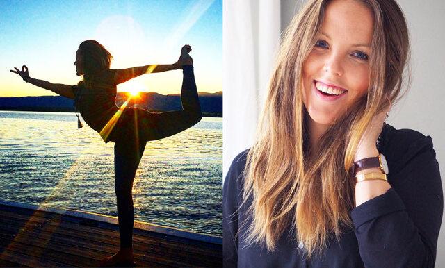 Josefin tog hjälp av yogan för att minska sin ångest – här är hennes råd till dig som också mår dåligt