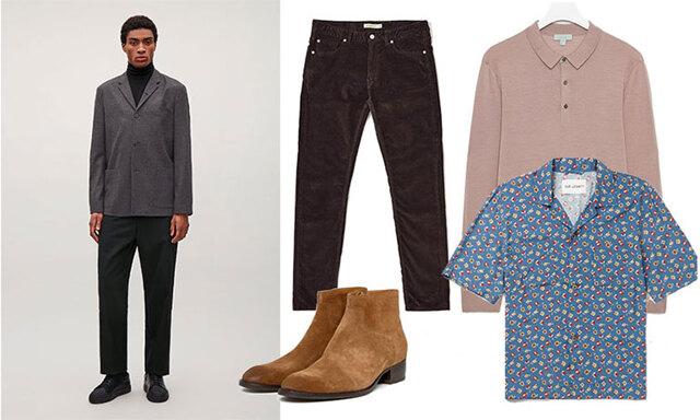 Denim, manchester eller kostym – 3 snygga jobboutfits för män