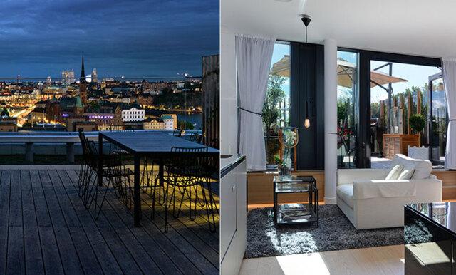 Drömmig etta mitt i Stockholm för nästan 9 miljoner – skulle du slå till?