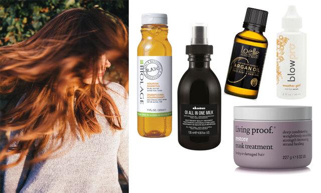 Torrt och frissigt hår? 15 produkter som gör underverk med ditt hår!