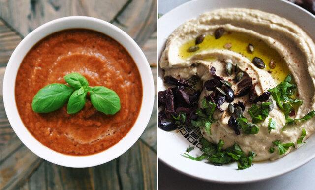 10 recept på veganska såser och dipper som sätter guldkant på din middagsmeny