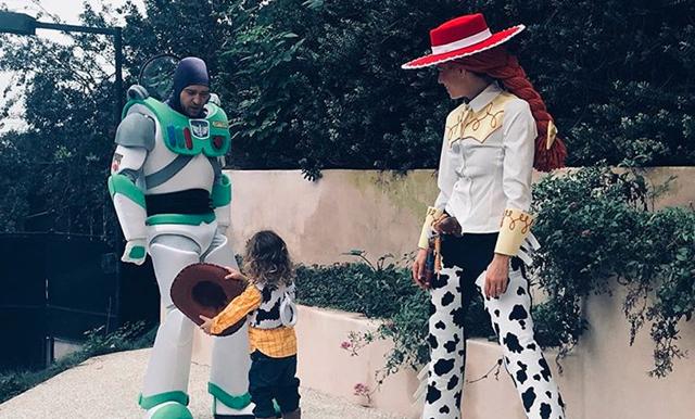 ÅH! Familjen Timberlake/Biel var helt klart bäst utklädd på Halloween